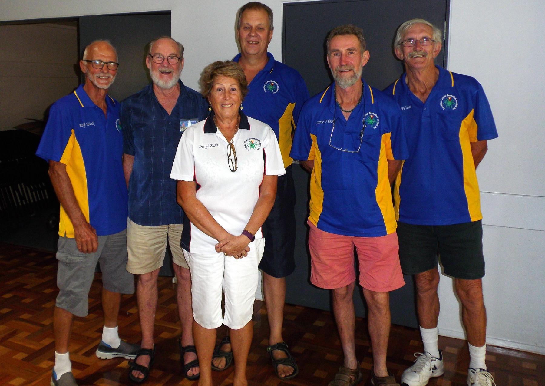 Sunshine Coast Bromeliad Society Team